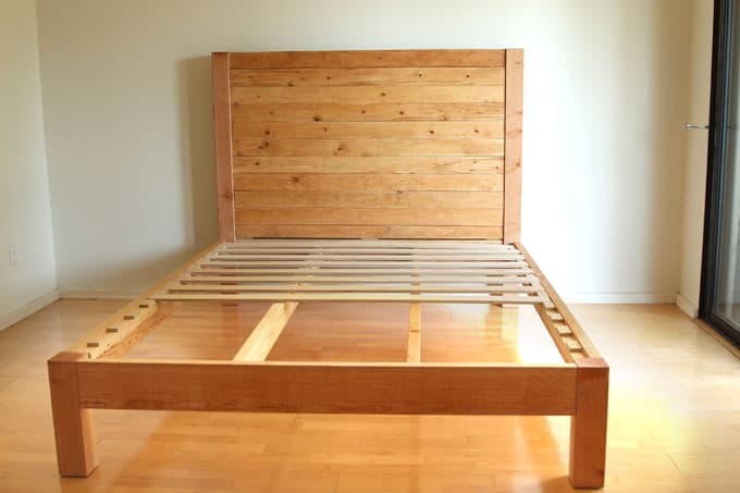 Diy Bed Frame Wood Headboard 1500 Look For 100 A