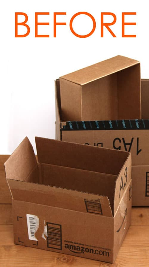 Turn These Free Cardboard Boxes Into Something Beautiful