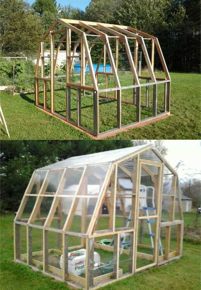 how to build a dutch barn greenhouse