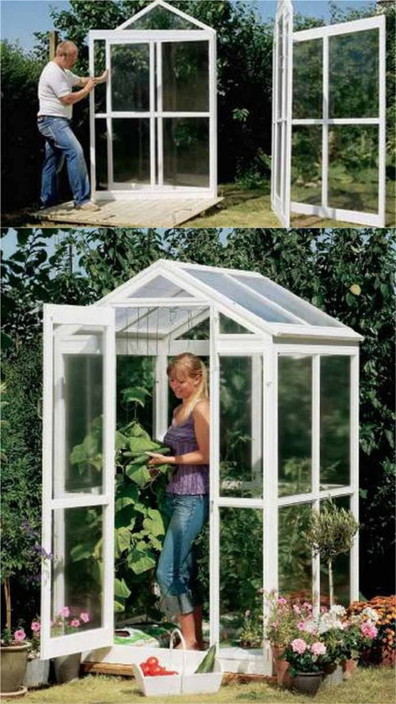 small greenhouse shed DIY