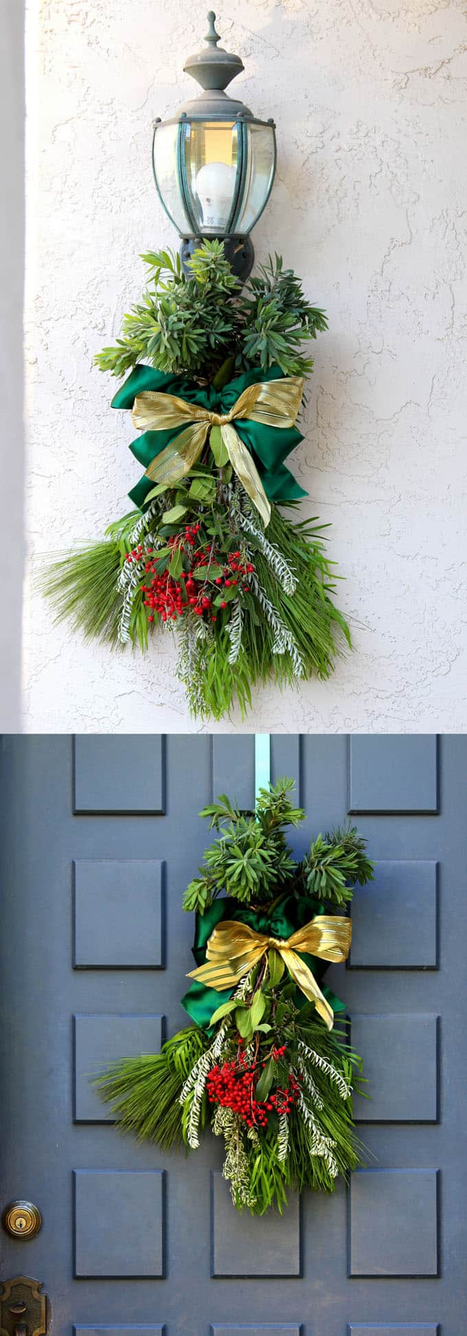 A Christmas Swag Can Be Used In Lot Of Ways For Example You Use It On Door Or Wall Just Like How Would Wreath