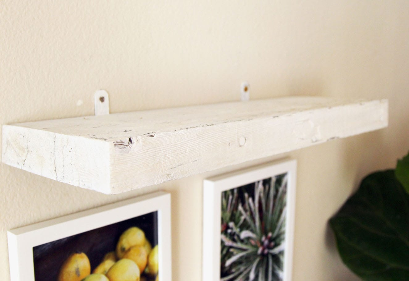 Easy Faux Diy Floating Shelves 5 In 15 Minutes A Piece