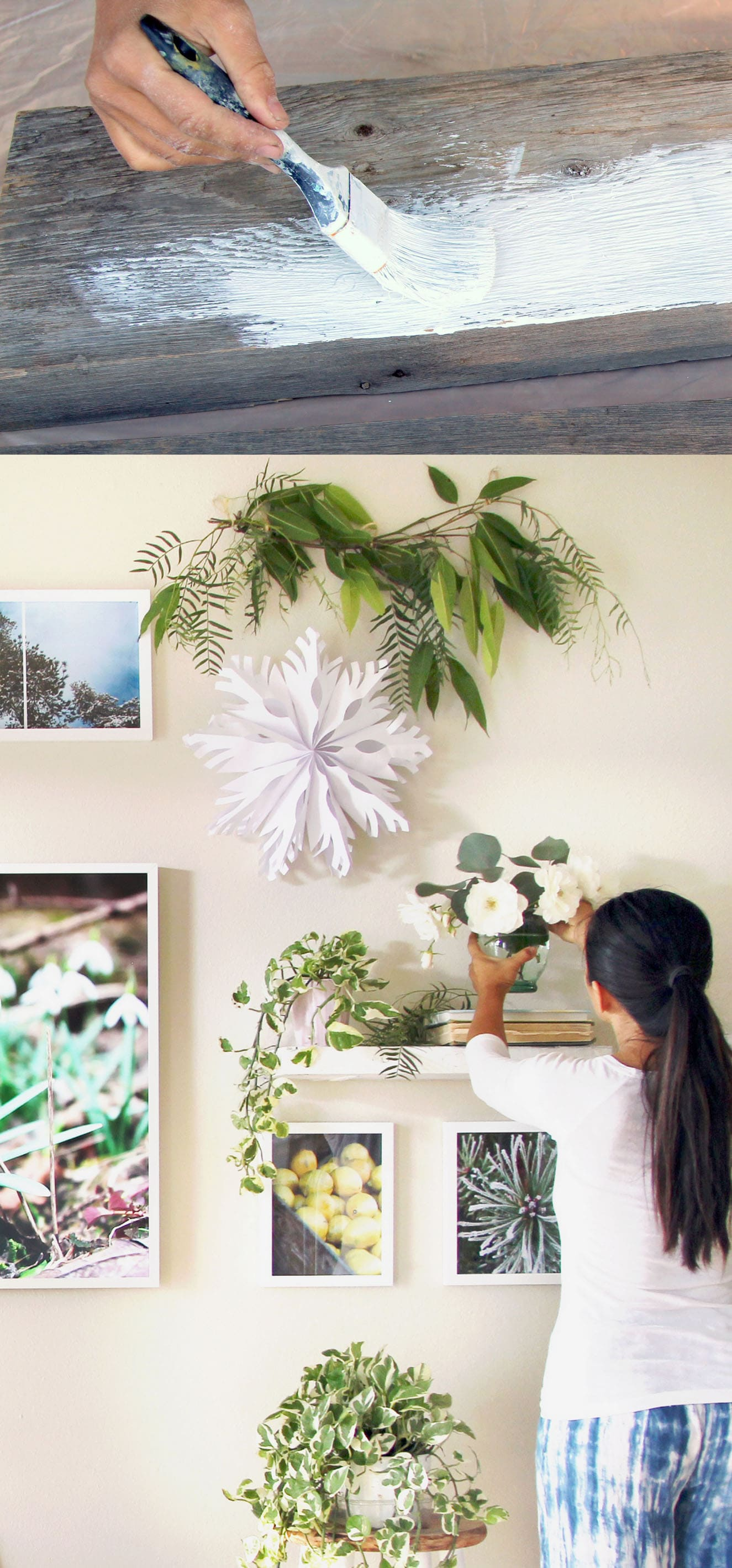 Easy Faux DIY Floating Shelves ( $5 in 15 minutes) - A ...