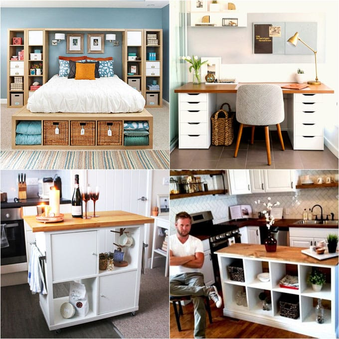 In The Second Group Of Our Favorite Ikea Hacks ( First Group Is Here ) We  Will Look At Some Inspiring Ideas For Every Room, From Ikea Hack Bed, Desk,  ...
