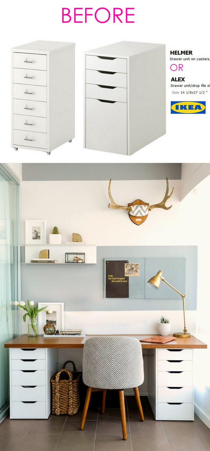 20+ smart and gorgeous ikea hacks ( & great tutorials ) - a piece of