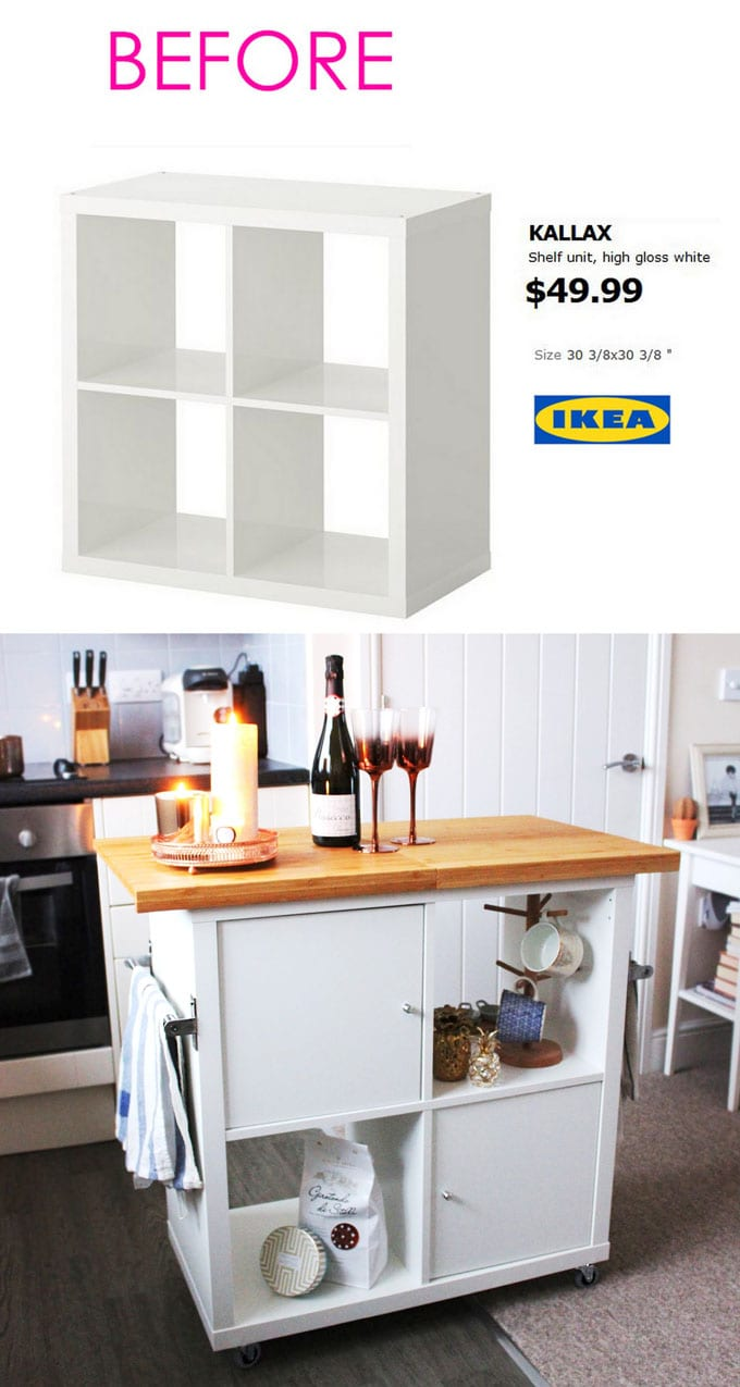20 smart and gorgeous ikea hacks great tutorials. Black Bedroom Furniture Sets. Home Design Ideas
