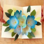 Easy to make Happy Mother's Day Card with gorgeous pop-up flowers in 3 simple steps! Beautiful handmade card with free printable templates, video tutorial and helpful tips I have learned on how to make a great pop up bouquet quickly and easily. - A Piece of rainbow