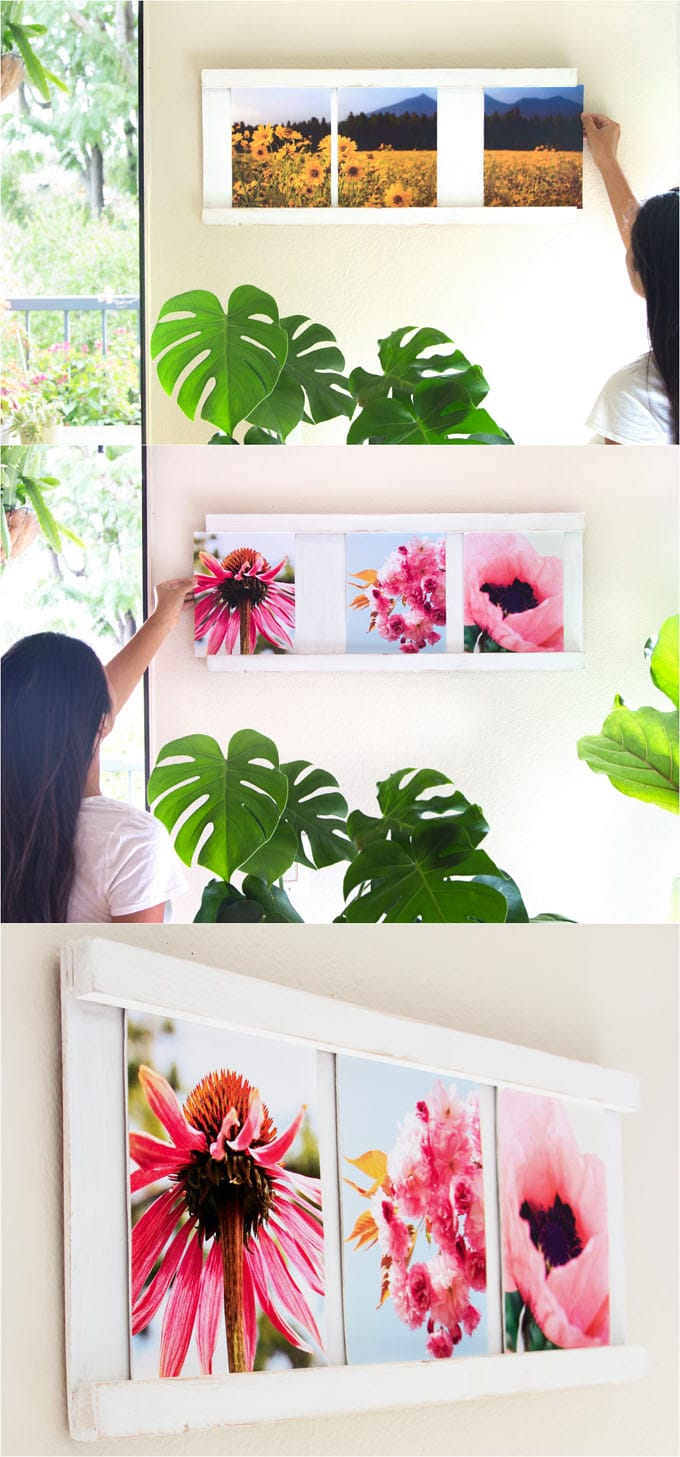 Easy Sliding Collage Photo Frame 30 Minute 5 Diy A