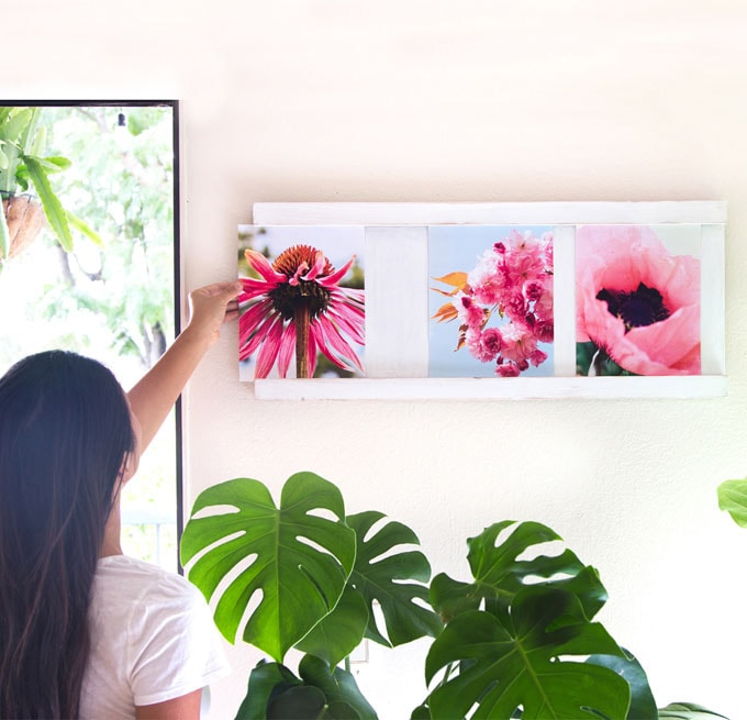 Easy Sliding Collage Photo Frame ( 30-Minute $5 DIY ) - A Piece Of ...