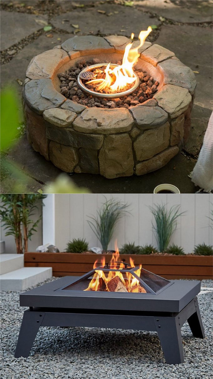 24 Best Fire Pit Ideas to DIY or Buy ( Lots of Pro Tips! ) - Page 2 of 2 - A Piece Of Rainbow