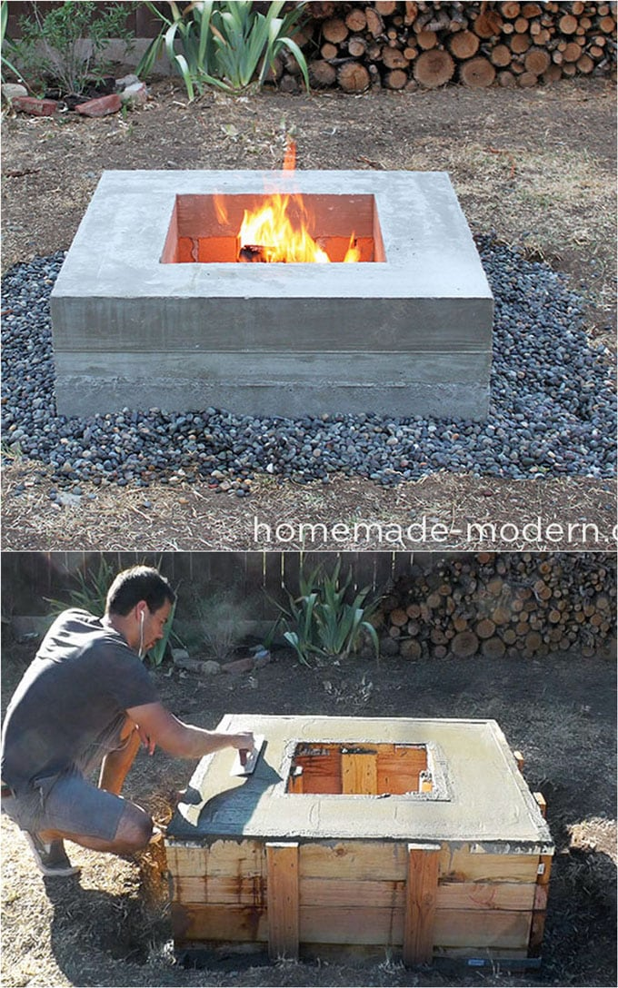 Who Makes High Quality Furniture Accessible To Everyone Through His Creative Diy Projects Looks At Fire Pit Coffee Table Isn T It Stunning