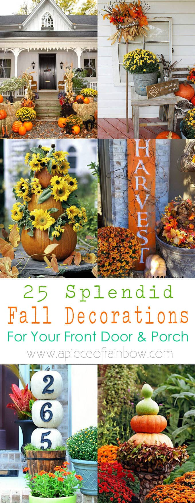 25 Splendid DIY Fall Outdoor Decorations - A Piece Of Rainbow on Fall Backyard Decorating Ideas id=74772