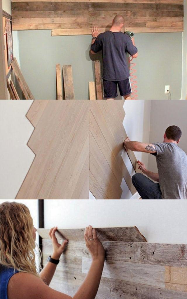Diy Pallet Wall 25 Best Accent Wood Wall Tutorials A Piece Of Rainbow