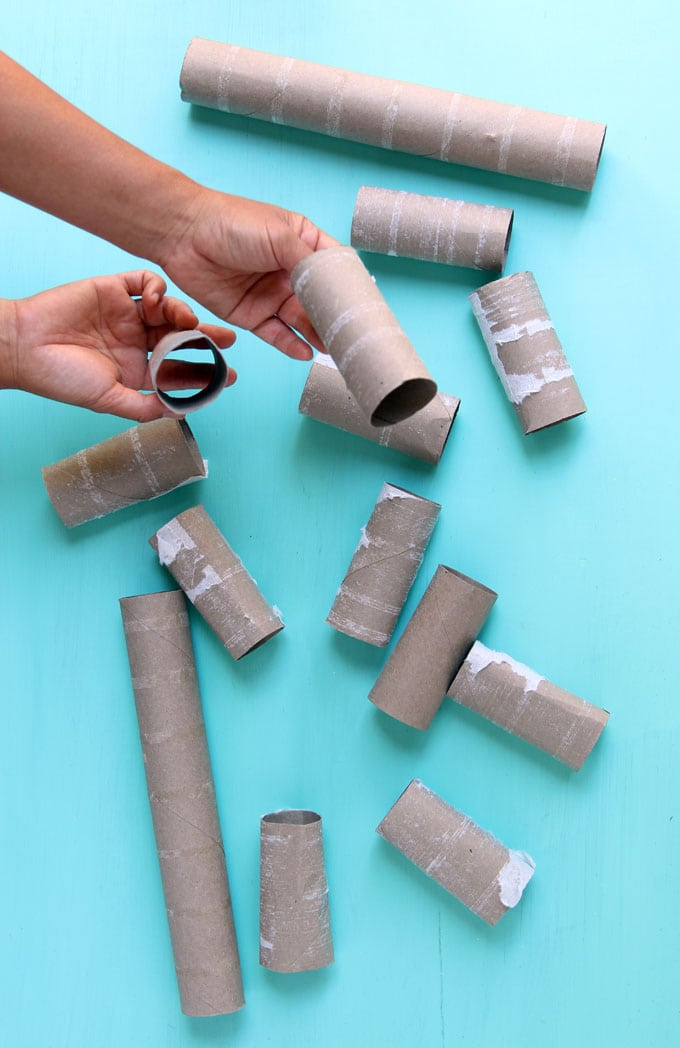 toilet paper rolls to make halloween crafts