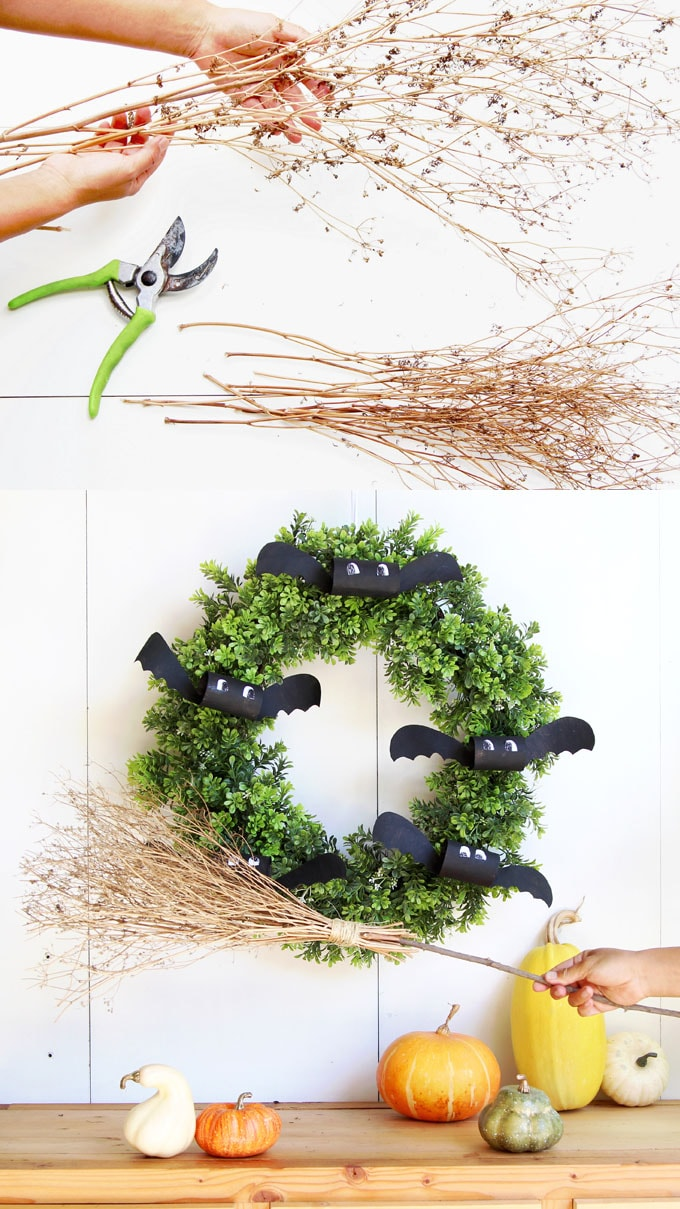 Creative Halloween Decorations Indoor.Magical Free Diy Halloween Witches Broom A
