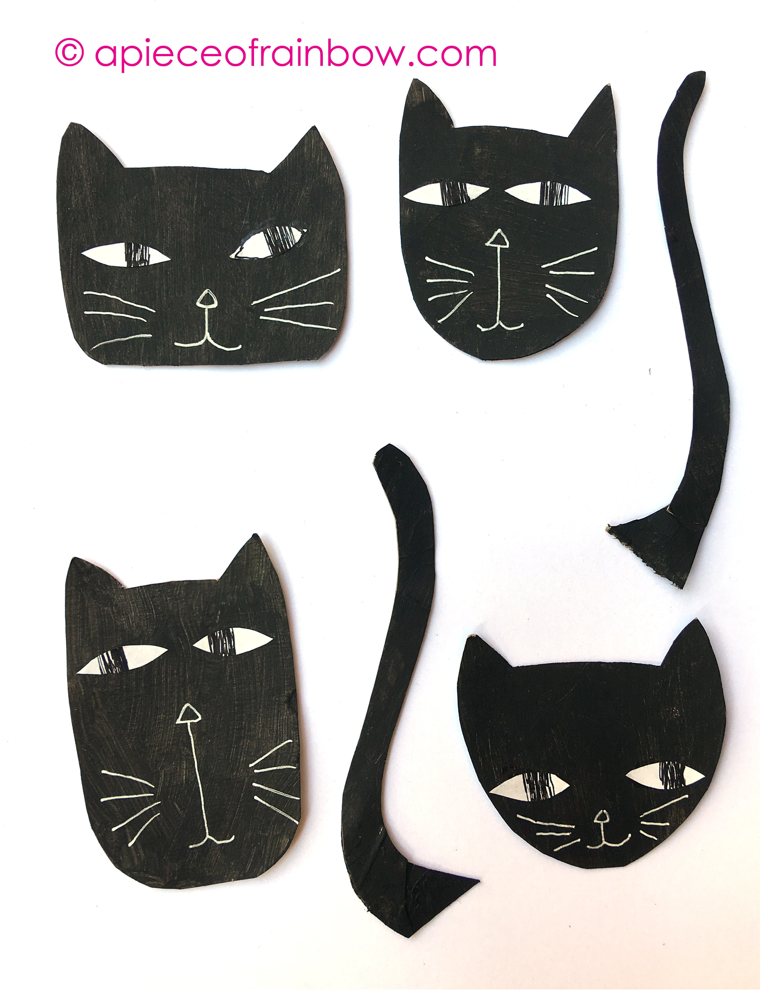 Wickedly Fun Halloween Cat Decorations 0 Easy Craft A Piece Of
