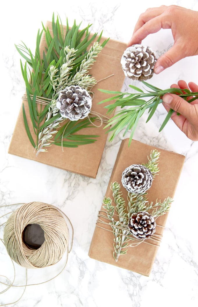 Brown Paper Bag Decoration Ideas For Christmas Chirstmas Decor