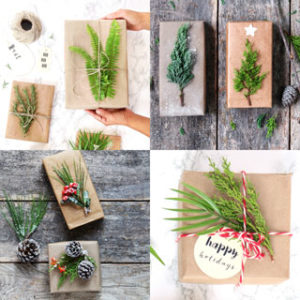 Gorgeous DIY gift wrapping ideas for Christmas & beyond, with 7 best tips & tricks, using free or recycled materials to wrap presents easily for $1 or less! - A Piece Of Rainbow