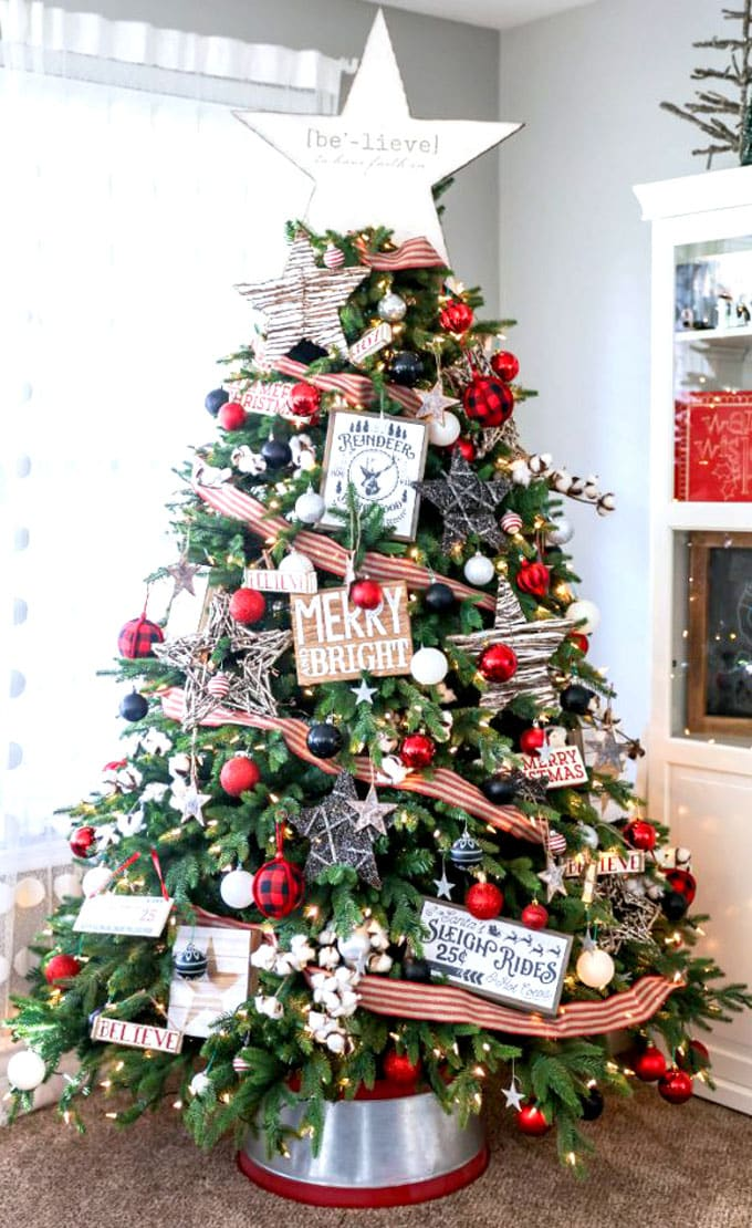 42 Gorgeous Christmas Tree Decorating Ideas Best