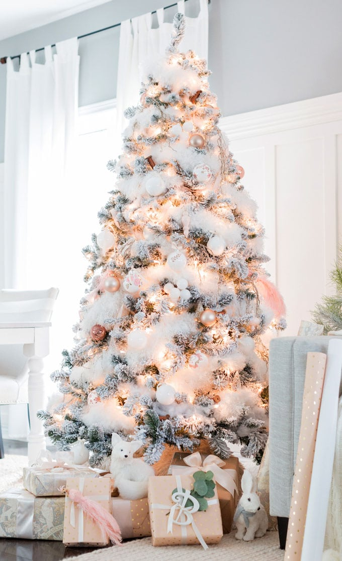 Red And White Christmas Tree Decorations Ideas.42 Gorgeous Christmas Tree Decorating Ideas Best