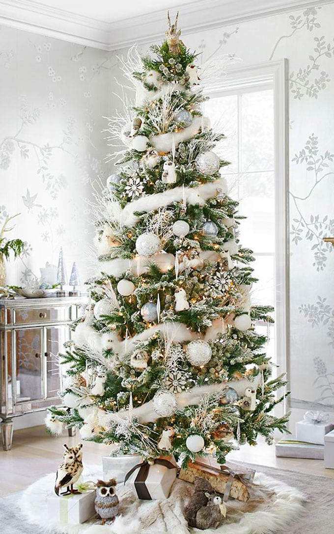 elegant Christmas tree decorations