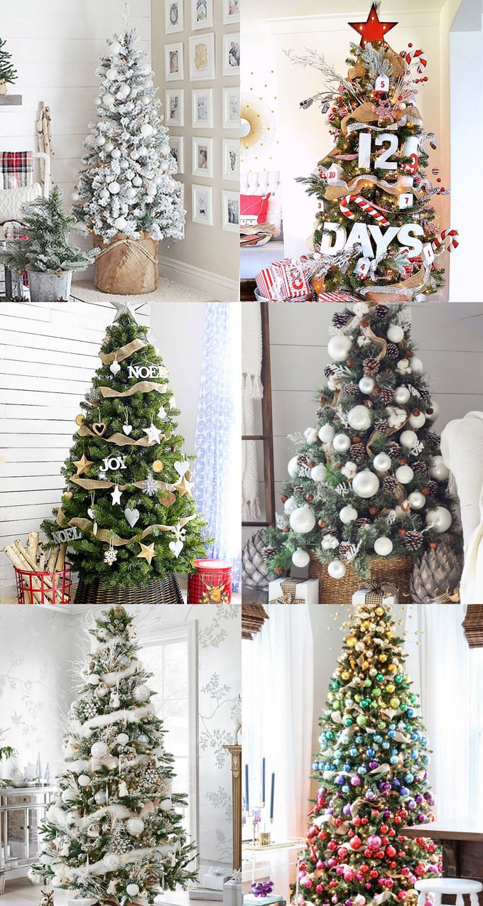 42 Gorgeous Christmas Tree Decorating Ideas Best Tutorials
