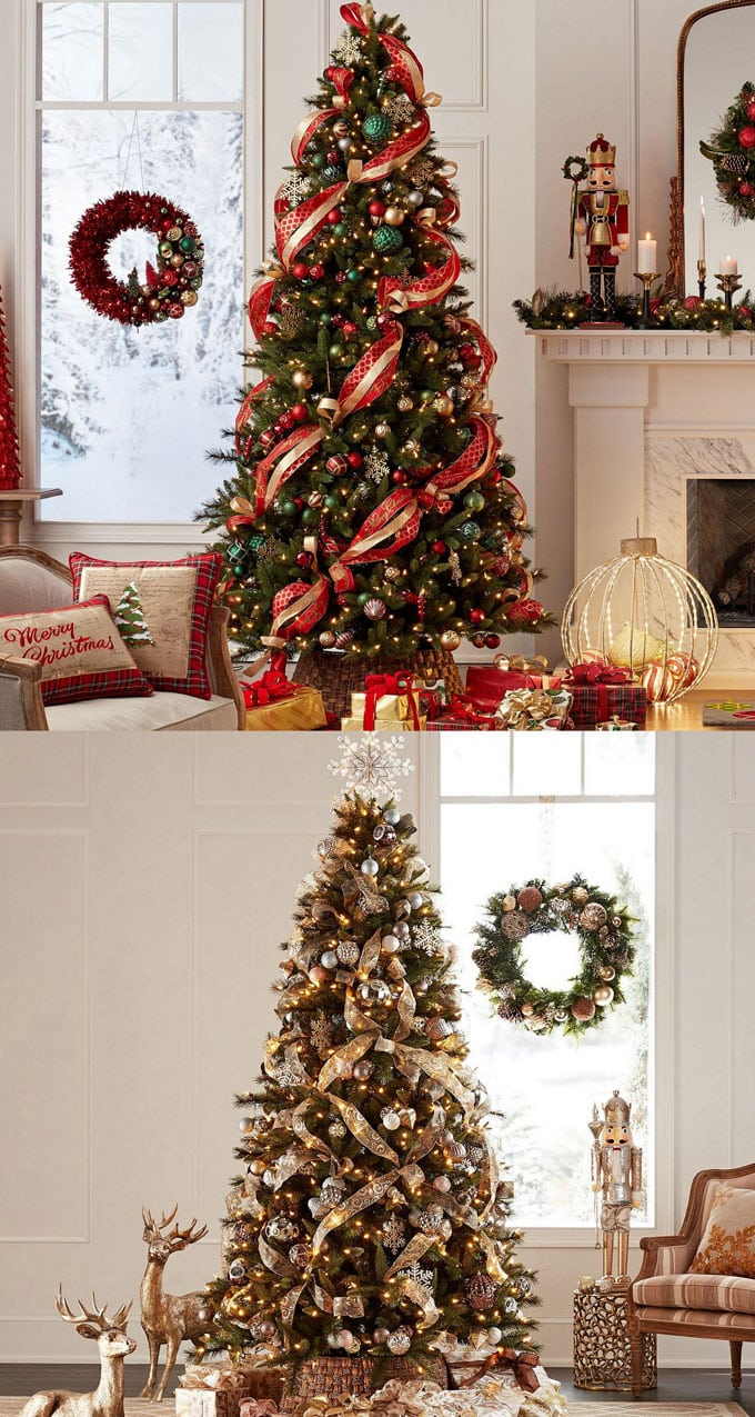 Christmas Tree Decorating Ideas.42 Gorgeous Christmas Tree Decorating Ideas Best