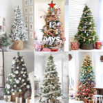 Beautiful Christmas tree decorating ideas & best DIY tutorials! Great pro tips & tricks on how to choose styles & colors, use ribbons & ornaments, & more!