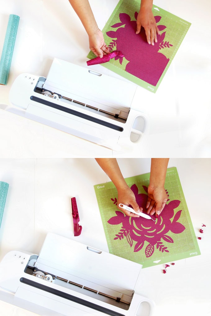 DIY Custom Canvas Tote Bag {with Free Floral Design Download