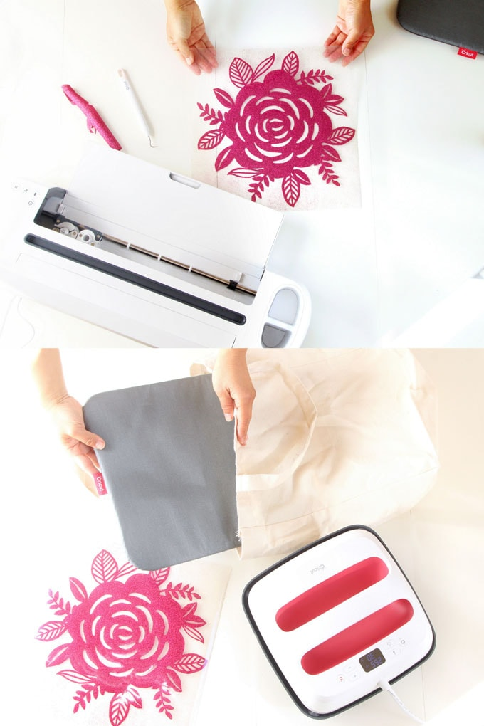 Diy Custom Canvas Tote Bag With Free Floral Design