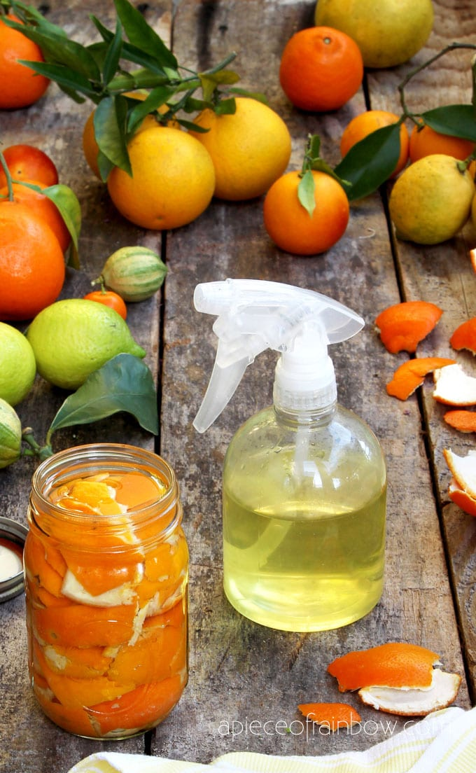 Diy Natural Citrus Cleaner Spray Easy All Purpose Green