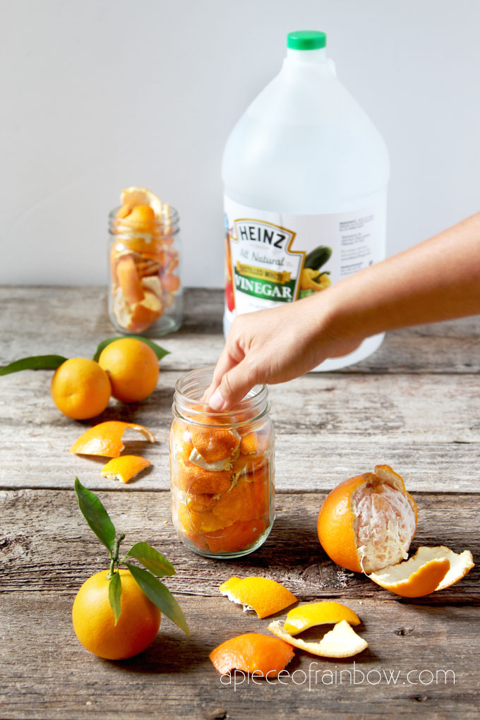 How to make DIY Citrus Cleaner