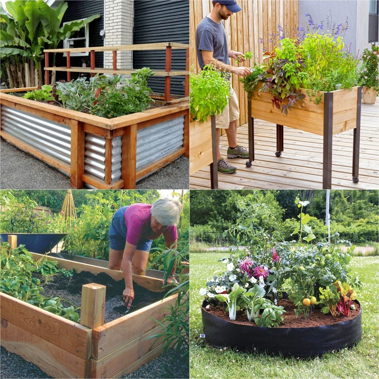 best DIY raised bed garden ideas