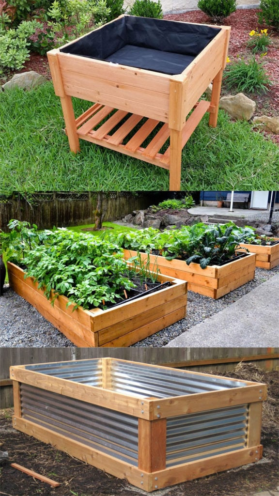 28 Best DIY raised bed gardens: easy tutorials, ideas & designs to build raised beds or vegetable & flower garden box planters with inexpensive materials