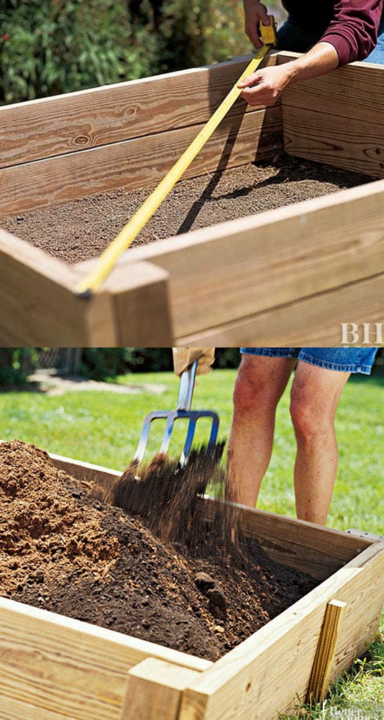 How to build simple wood garden boxes