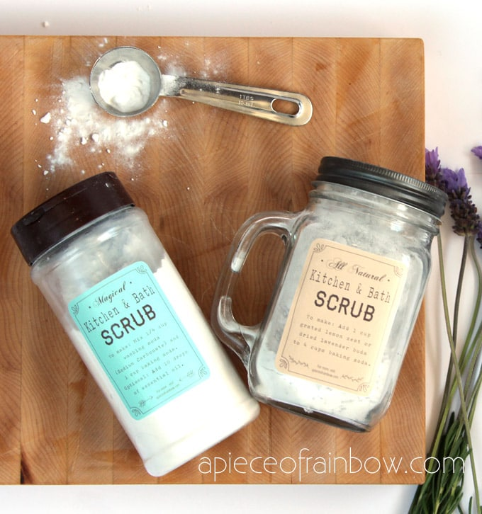 DIY Green Cleaning Scouring Powder: Magical 2-Minute Surface