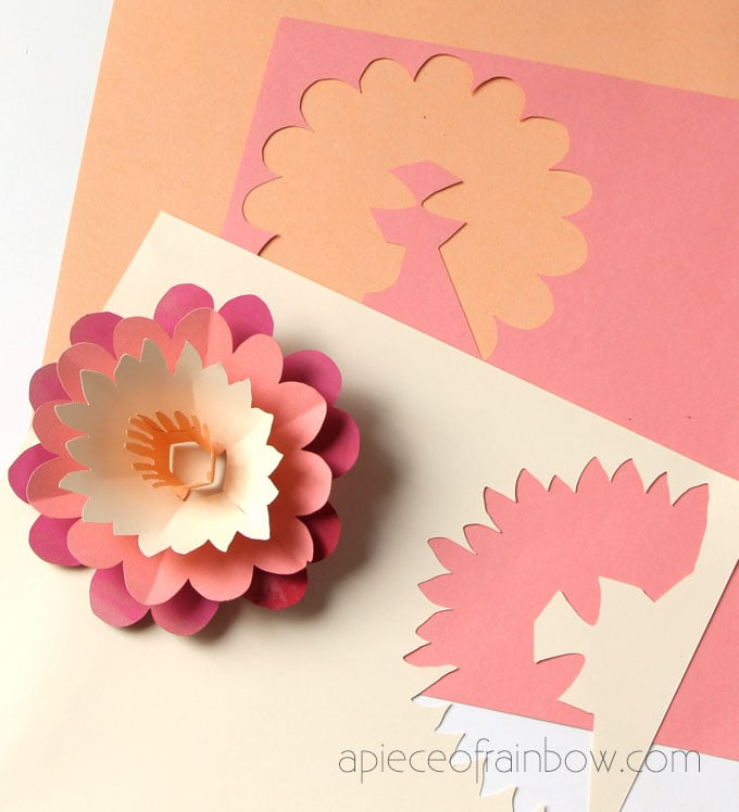 Diy Happy Mother S Day Card With Pop Up Flower A Piece Of Rainbow