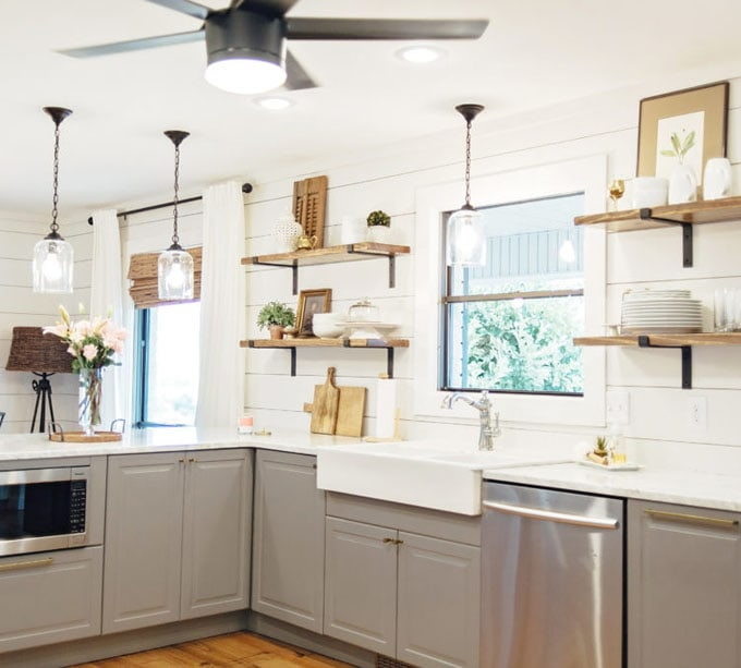 Kitchen Remodeling Cabinets: 15 Inspiring Before After Kitchen Remodel Ideas (Must See