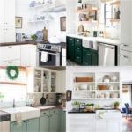 15 Best kitchen remodel ideas & before and afters: how to paint kitchen cabinets, add open shelving, select backsplash, hardware, lighting, kitchen decorations, and styles from farmhouse to modern! - A Piece of Rainbow