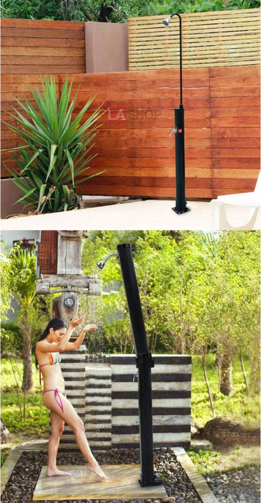Free Standing Outdoor Shower Kits