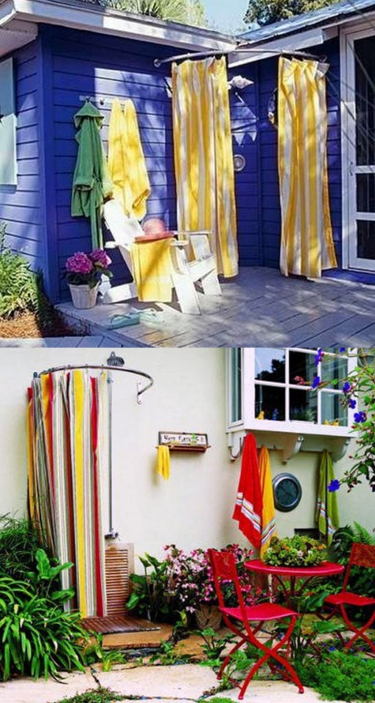 Shower Curtain enclosures