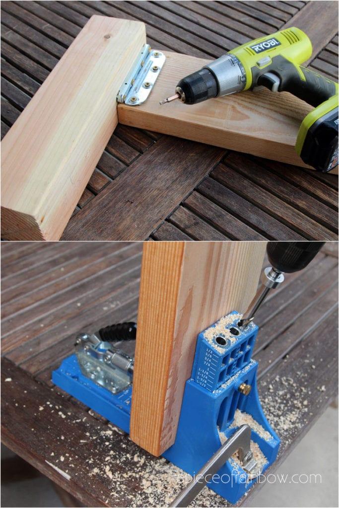 drill wood with kreg jig