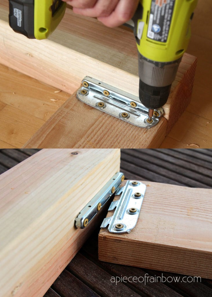 how to install bed rail brackets