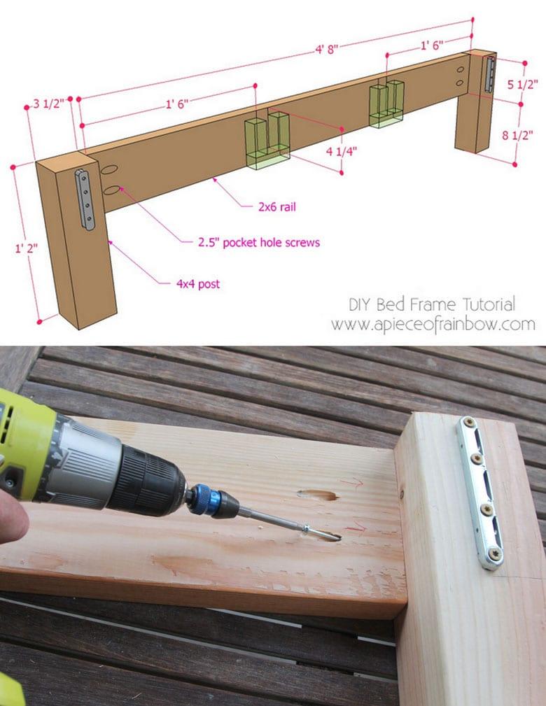 building foot board