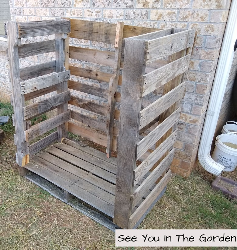 Easy DIY pallet firewood storage rack