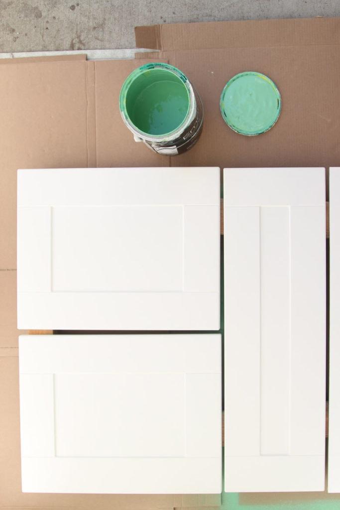 mdf laminate cabinet doors