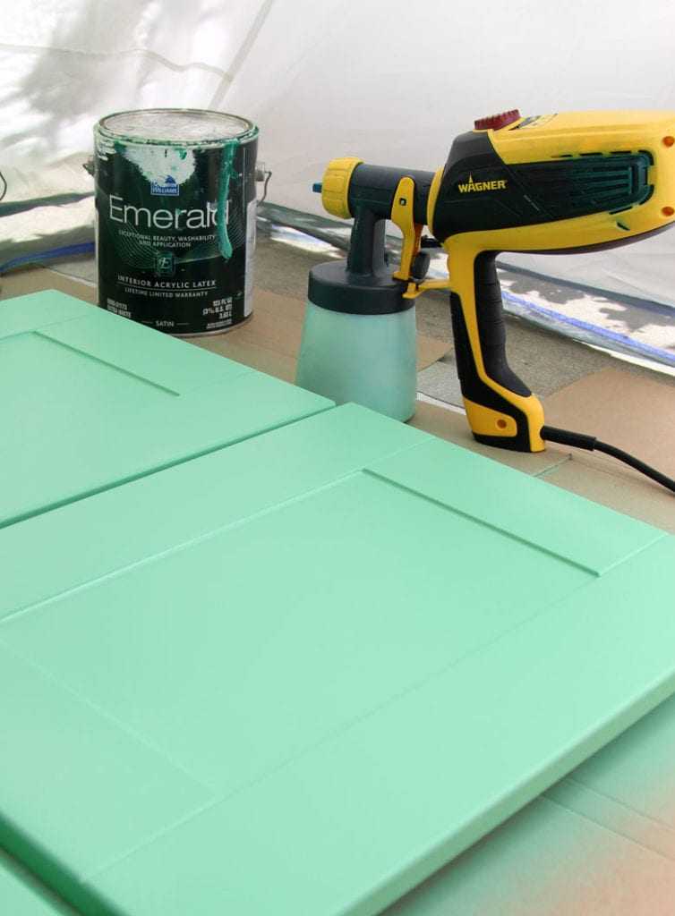 paint ikea cabinets