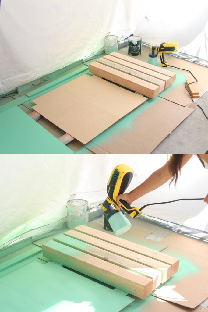 How to paint kitchen cabinet legs