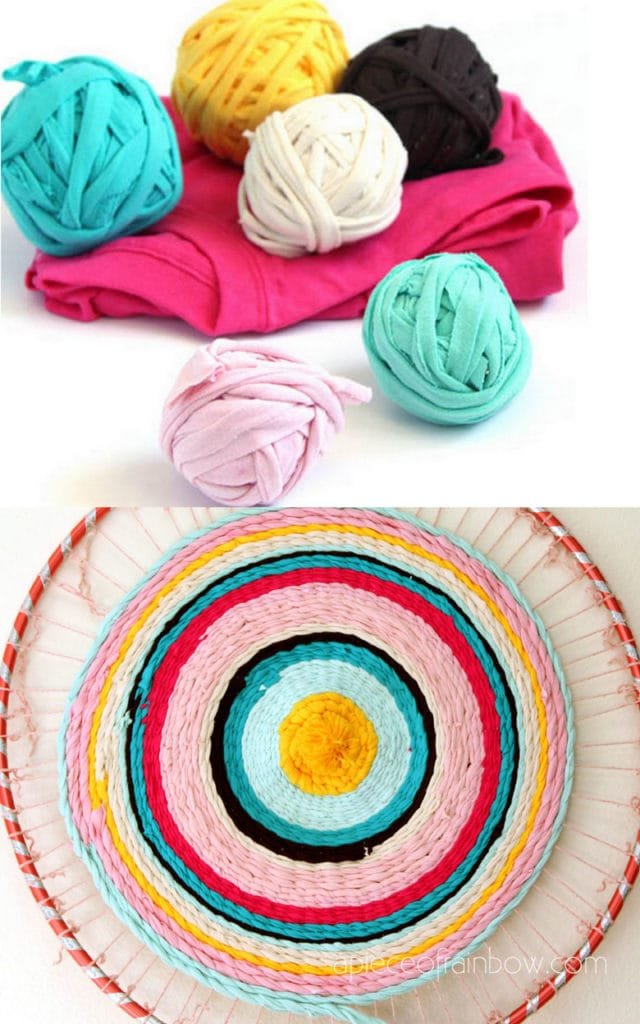 Beautiful Rag Rug Diy T Shirt Yarn