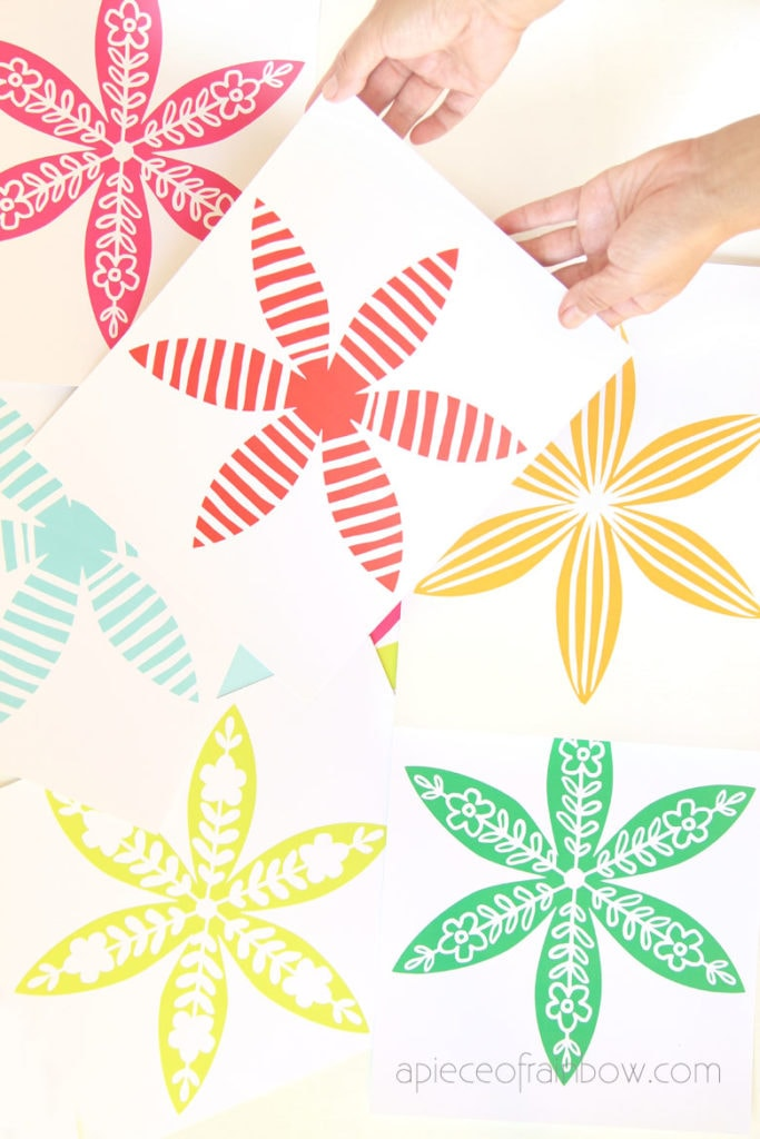 printable templates for beautiful DIY paper Christmas decorations